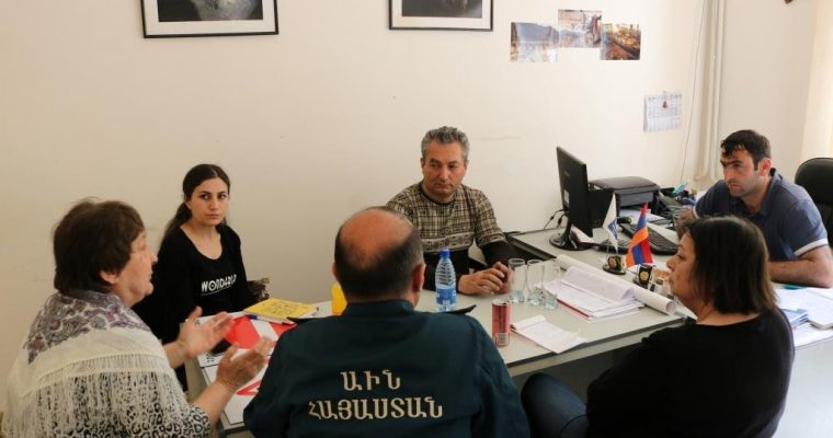 ALTER Armenia Team Visits Akhtala