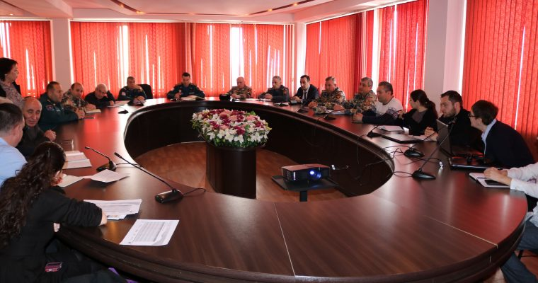 ALTER Team Plans Upcoming Exercises with Armenian Ministry of Emergency Situations, Private Sector Partners.